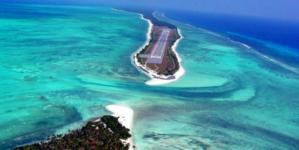 "A Beautiful Airport in the Deep Sea : ""Agatti Island"""