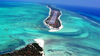"A Beautiful Airport in the Deep Sea : ""Agatti Island"""