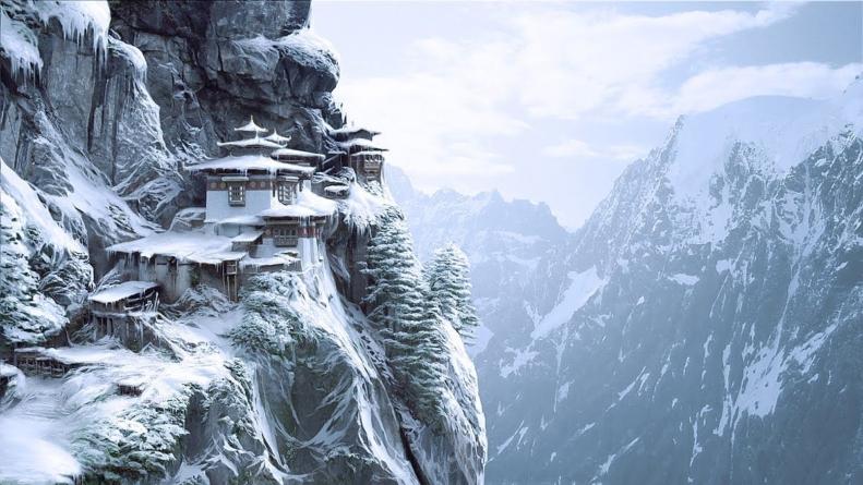 Tiger's Nest Monastery, Paro Valley, Bhutan