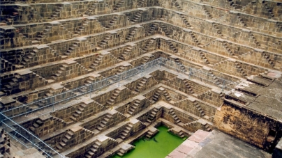 Chand Baori – Deepest and largest step-wells in India, Rajasthan