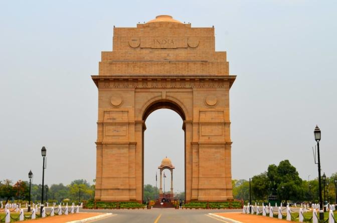 The India Gate : The biggest war memorials of India.