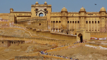 The Amer Fort Jaipur, Rajasthan