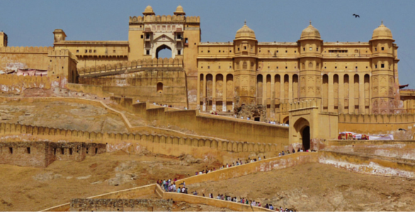 Amer Fort Jaipur, Rajasthan.