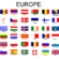 List of European's Countries with their Capitals and Currencies