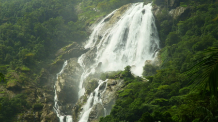 Dudhsagar Waterfalls – The Milky Water