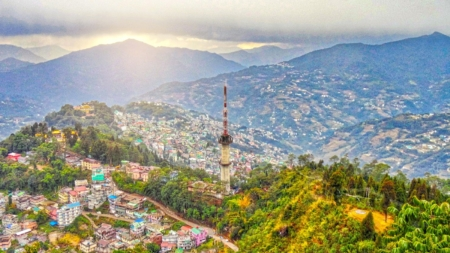 Gangtok – Hills that glorify patriotism and beauty.