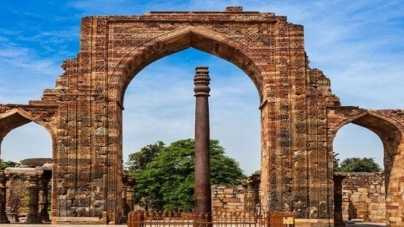 Iron Pillar -The Kirti Stambh