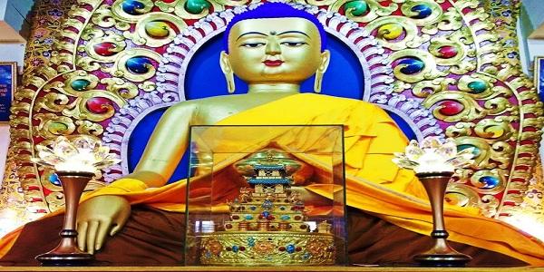 Tsuglagkhang,where the Dalai Lama lives