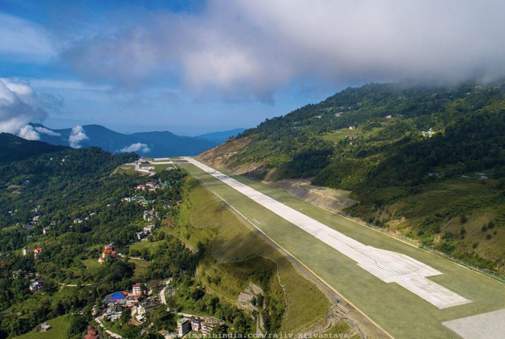 Pakyong Airport runway