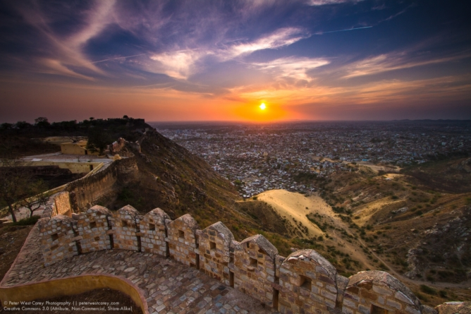 The Nahargarh fort
